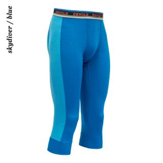 Devold man Hiking 3/4 Long Johns 2S skydiver / blue